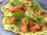 Smoked Fish Egg Crepe recipe