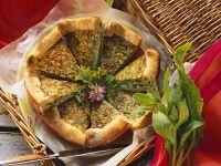 Herb Quiche recipe