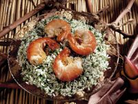 Herb Rice Salad with Shrimp recipe