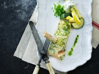 Herb Salmon with Vegetables recipe