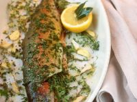 Herbed Baked Trout recipe