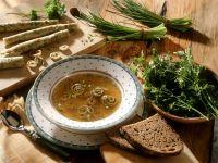 Herbed Pancake Soup recipe