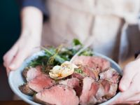 Sliced Herby Pork Loin recipe