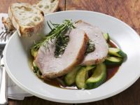 Herbed Pork Loin with Zucchini recipe