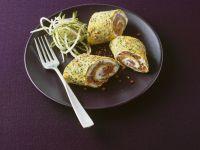 Herbed Salmon Roll-ups recipe