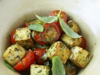 Herbed Tofu with Tomatoes recipe
