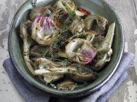 Herby Artichoke Hearts recipe