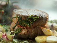 Herby Beef Tenderloin recipe