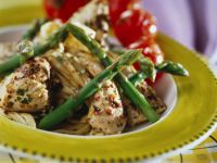 Herby Chicken Pieces with Pasta recipe
