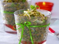 Herby Green Lentil Salad recipe