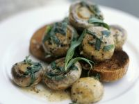 Herby Mushrooms with Toast recipe