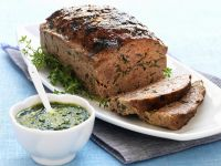 Herby Pork and Beef Meatloaf recipe