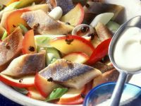 Herring and Apple Salad with Juniper Berries recipe