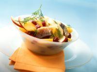 Herring, Beet and Potato Salad recipe
