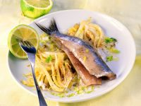 Herring Fillets with Fennel and Lime recipe