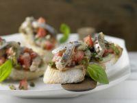 Herring Salad on Crostini recipe