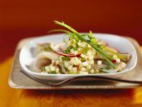 Herring Salad with Apple Dressing recipe
