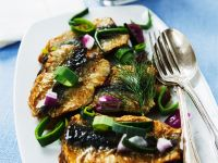 Herring with Potatoes and Onions recipe