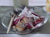 Herring with Red Onions recipe