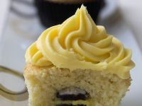Hidden Centre Liquorice Muffins recipe