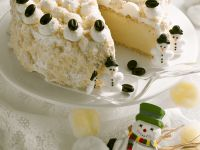 Holiday Coffee Cream Cake recipe