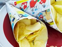 Deep-Fried Potato Chips recipe