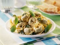 Homemade Filled Pasta Shapes recipe