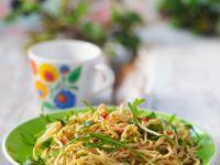 Homemade Pasta with Arugula recipe