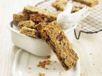 Honey and Cranberry Granola Bars recipe