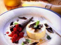 Honey Ice Cream with Berries recipe