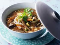 Hot and Sour Asian Soup recipe