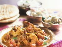 Hot and Sour Indian Shrimp recipe
