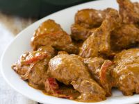 Hungarian Chicken and Bell Peppers recipe