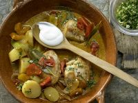 Hungarian Chicken Ragout recipe