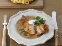 Hungarian Paprika Chicken and Spaetzle recipe