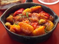 Braised Tomatoes and Peppers recipe