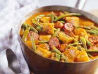 Hungarian Stew with Potato and Spiced Pork recipe