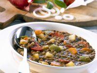 Iberian Lentil Casserole recipe