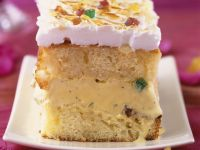 Ice Cream Cakes with Candied Fruit and Toasted Meringue recipe
