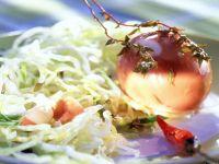 Iceberg Lettuce with Spicy Rum Eggs recipe