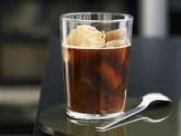 Iced Coffee with Coffee Ice Cream recipe