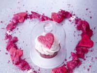 Iced Heart Cupcakes recipe