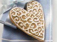 Iced Lebkuchen Hearts recipe