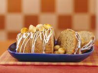 Iced Macadamia Nut Cake recipe