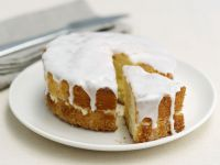 Iced Moist Lemon Sponge recipe