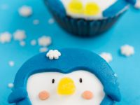 Iced Penguin Cakes recipe