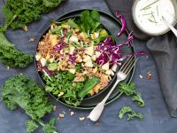 Immune Booster Kale Buddha Bowl recipe