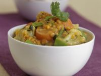Indian Cauliflower and Lentil Dhal recipe