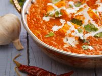 Indian Cheese in Tomato Curry recipe