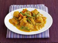 Indian Chicken Vegetable Curry recipe